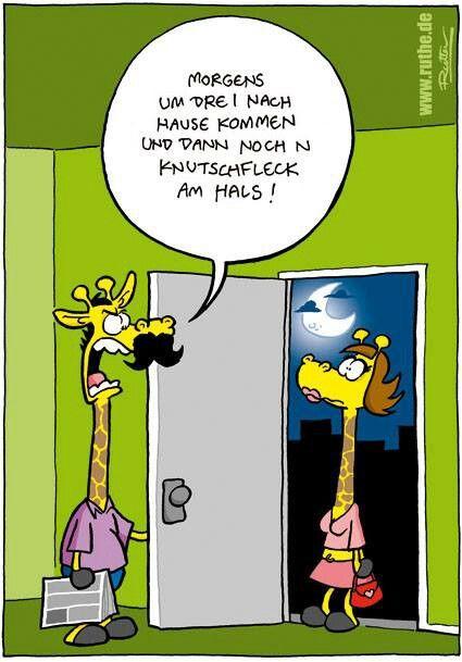 Sehr lustiger #Cartoon von Ralph #Ruthe.de | ...Die Erforschung ...