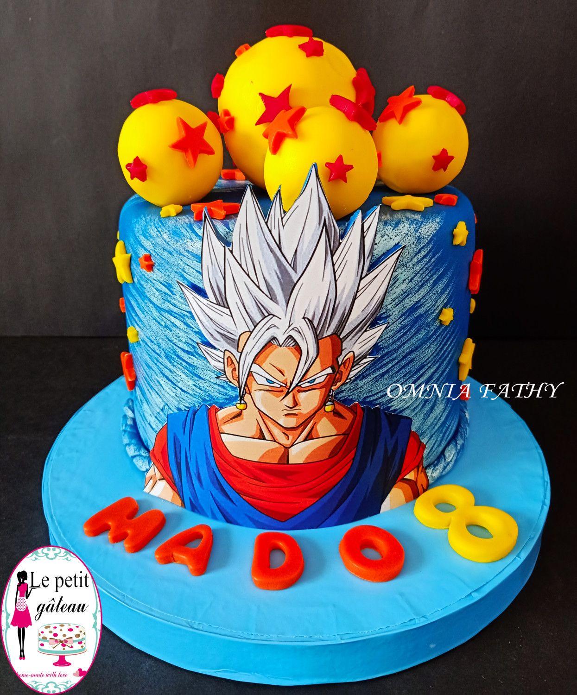 Dragon Ball Z Cake By Omnia Fathy Le Petit Gateau Dragonball