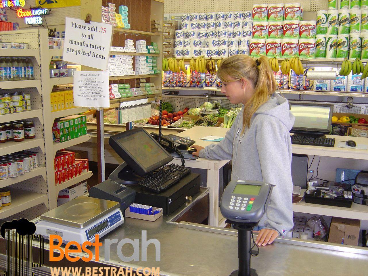 پوز فروشگاهی Pos terminals, Accounting