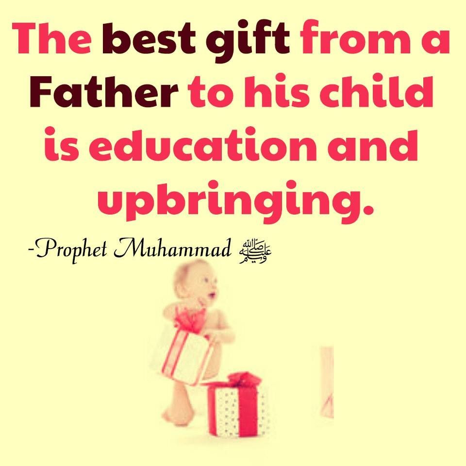 #Father #Child #Children #Gift #Education #Upbringing