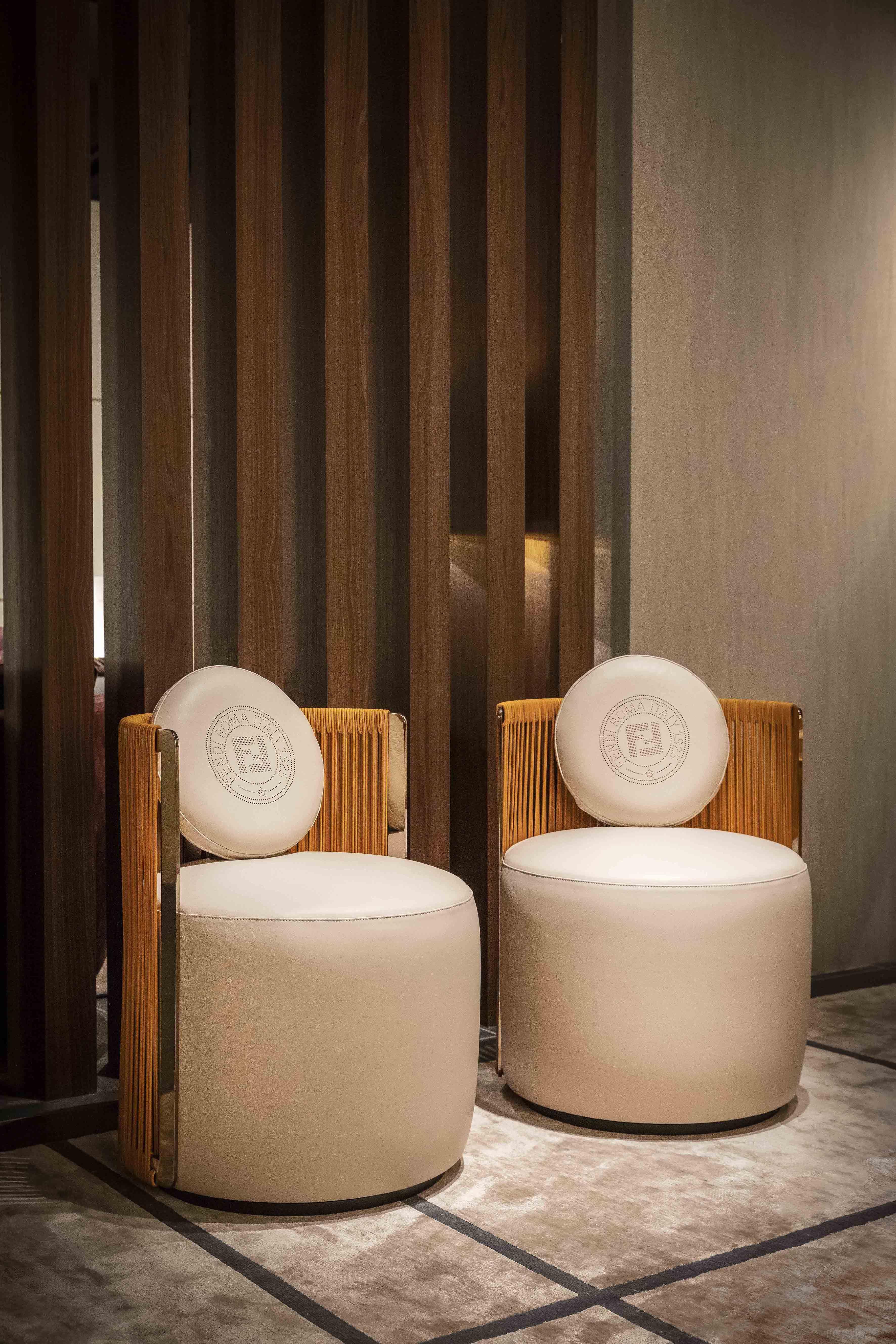 #armchair #chair #Fendi #interiordesign #luxuryfurniture #madeinitaly #LuxuryLivingGroup