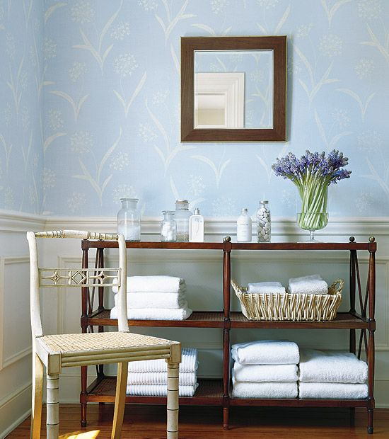 House queen anne   also lace wallpaper from thibaut serendipity collection rh in pinterest
