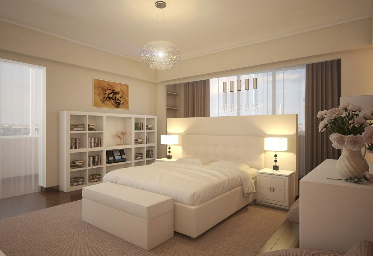 Modern White Bedroom Design Picture 34