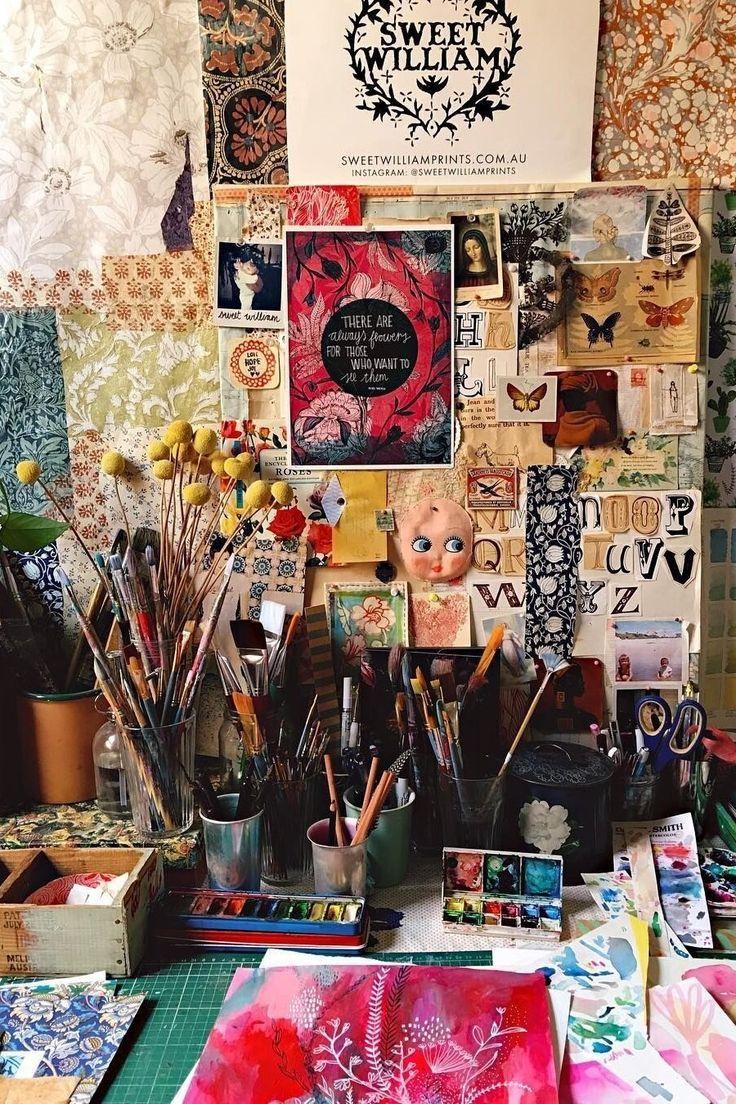 diy artist work table