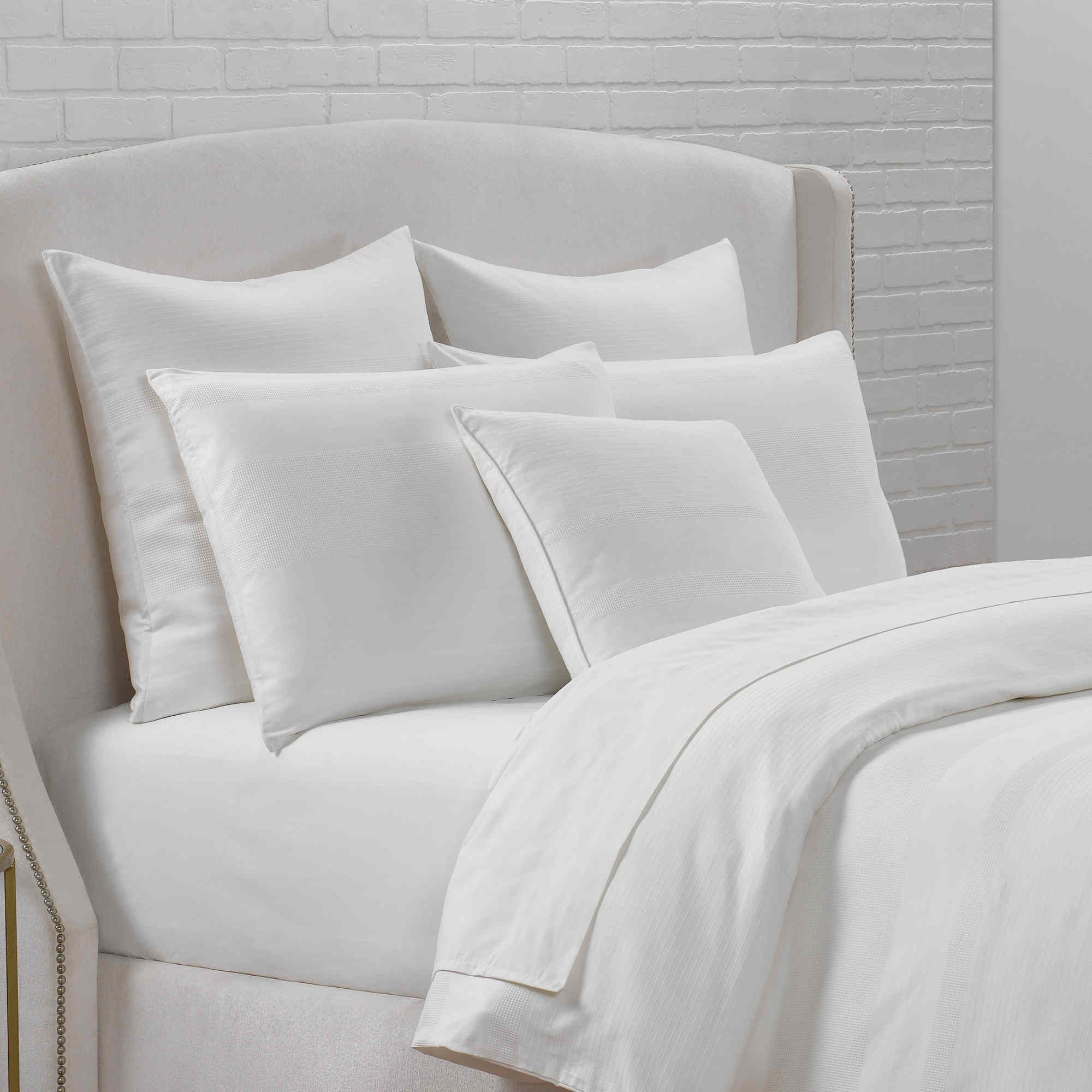 Portico Sloane Square Bedding Organic Cotton Duvet Cover White