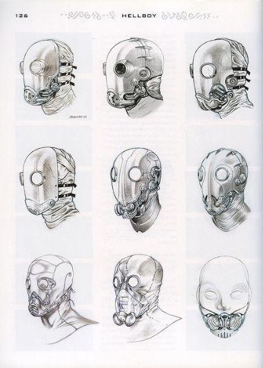 Karl Ruprecht Kroenen mask variations