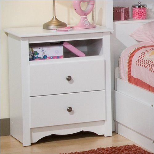 monterey tall nightstand w open shelf white for sale home furnitures pinterest tall. Black Bedroom Furniture Sets. Home Design Ideas
