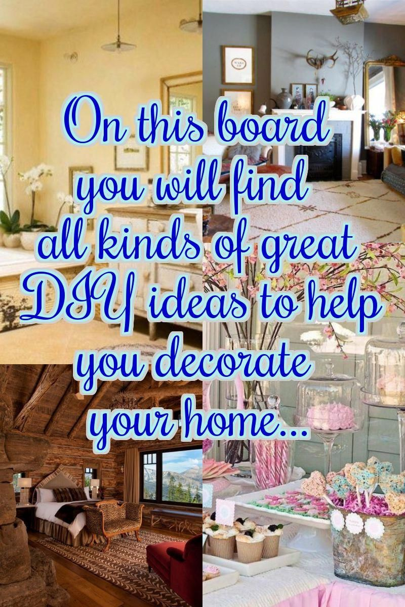 Diy Home Decor Tips I Have Some Amazing Inexpensive And Free Ways To Make Your
