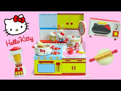 9f48016d1 Hello Kitty Happy Kitchen Rement Collectibles - YouTube | Froggy ...