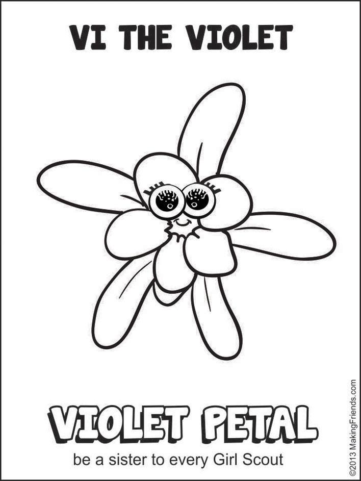 girl scout daisy petals