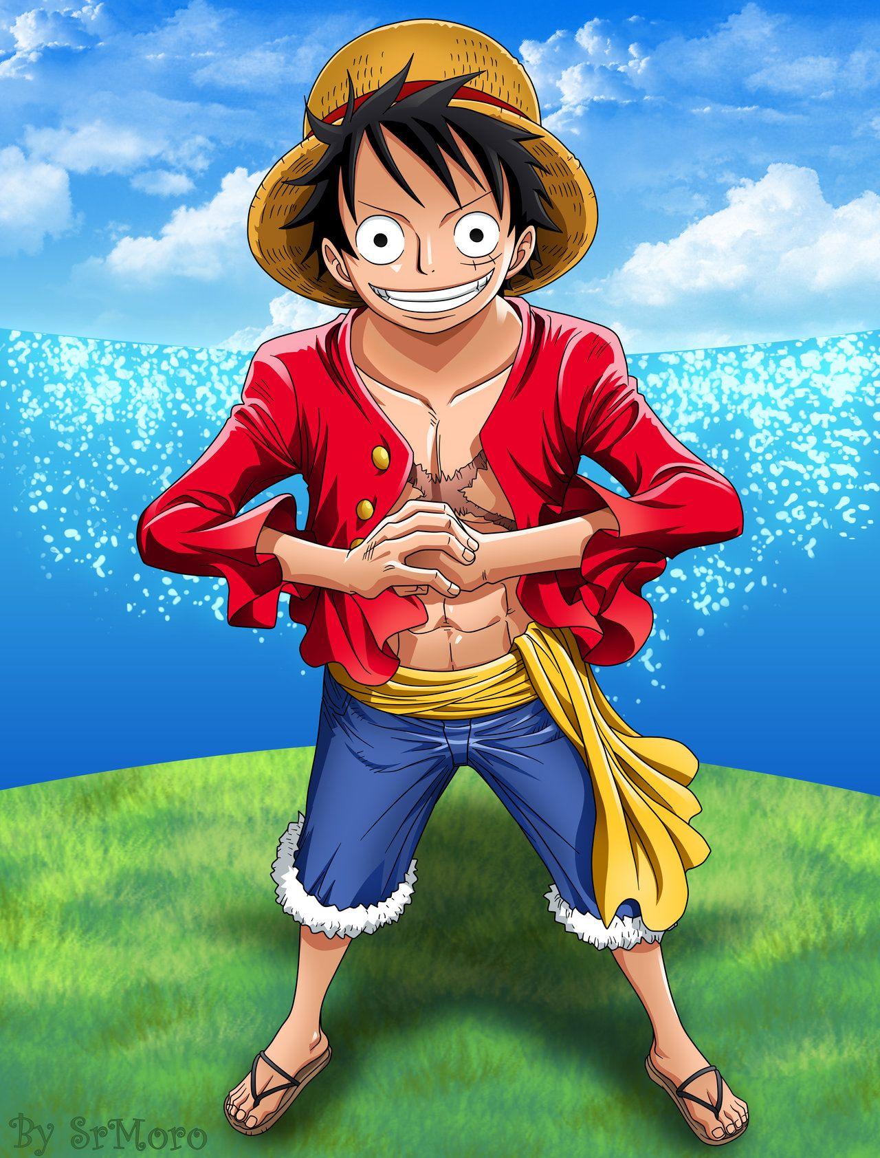 Luffy One Piece by SrMoro on deviantART Luffy, Dessin