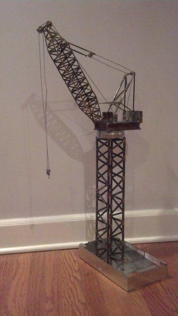 Wonderful Homemade Welding Projects | Model Tower Crane | Soldando, Welding |  Pinterest