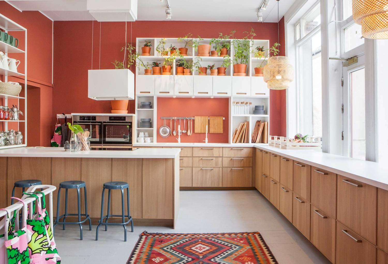 Ikea Ekestad Keuken : Units and appliances all ikea ekestad oak tiles from caoba