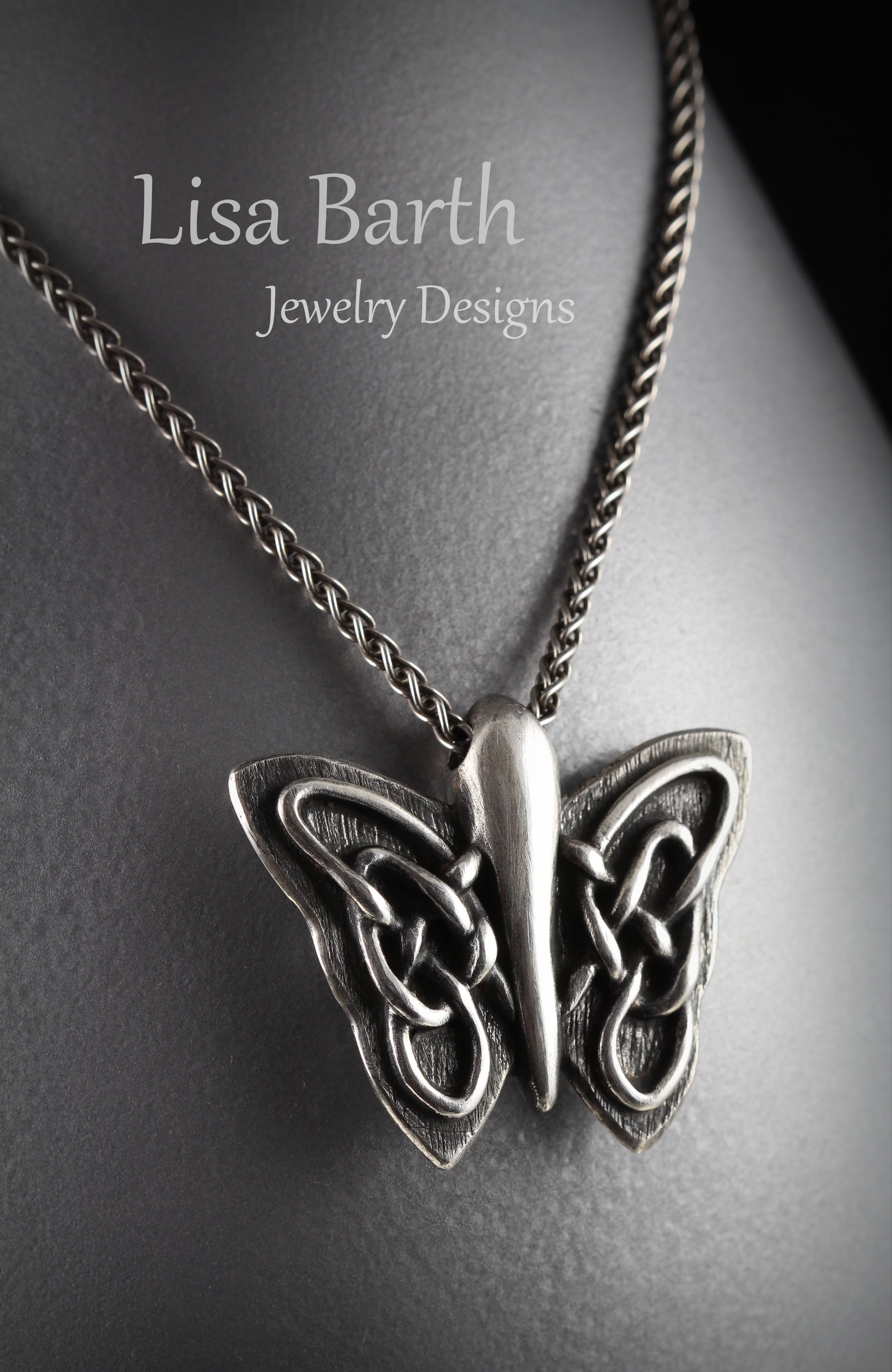 I made this pendant by hand and the Celtic part was done with ...