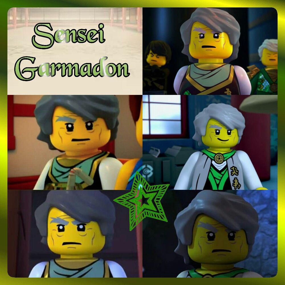 My Beautiful Collage Of Sensei Garmadon Lego Ninjago Master Of