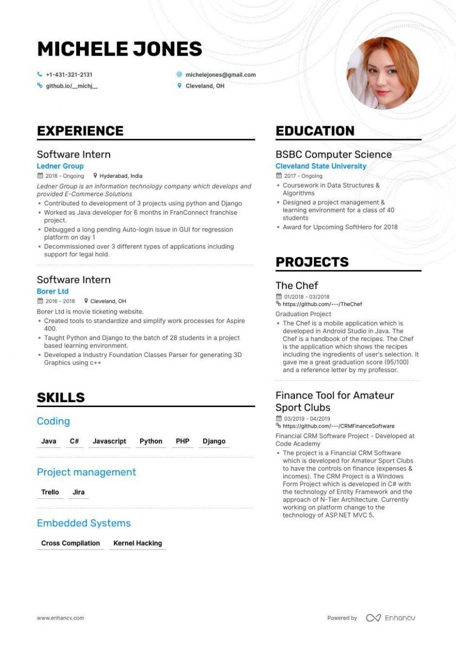 13 Entry Degree Software program Engineer Resume in 2020