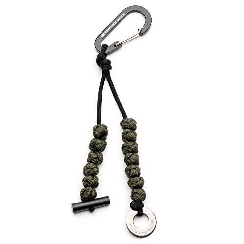 The Friendly Swede Quality Pace Counter Beads With Paracord Ranger