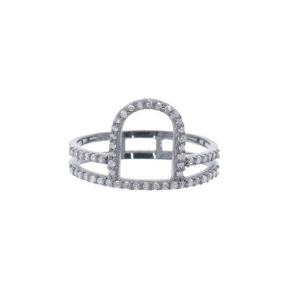 2pcs Lot VDJRN-15160 Diamond Pave Fashion by VintageDiamondJewels