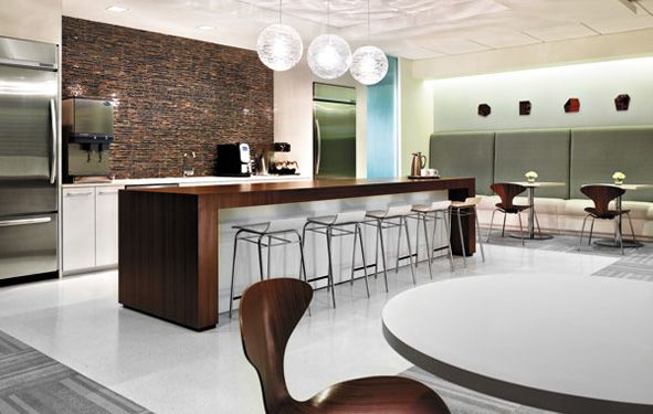 Break room bar office design pinterest break room for Office lunch room design ideas