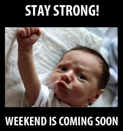 Syndrome Funny Babies Weekend Is Coming Funny Pictures