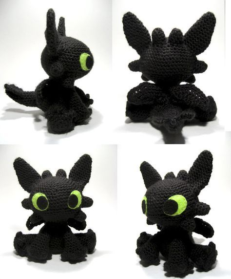 Patrn Para Hacer A Desdentado Free Crochet Toothless Amigurumi