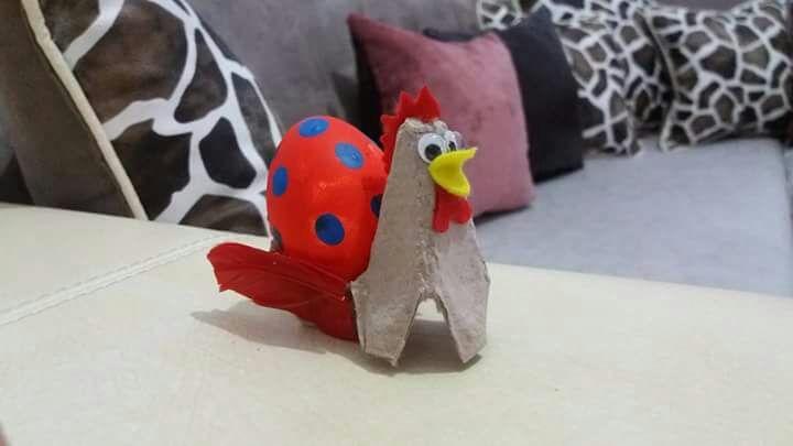 Chicken crafts for preschoolers | funnycrafts
