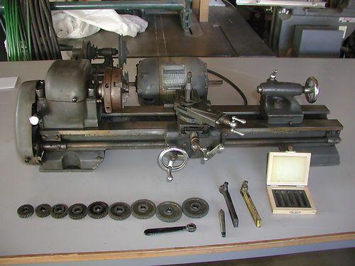 Vintage Sears Atlas Metal Lathe Model 101 Gunsmithing
