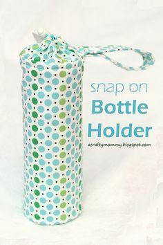Tutorial: Snap on bottle holder