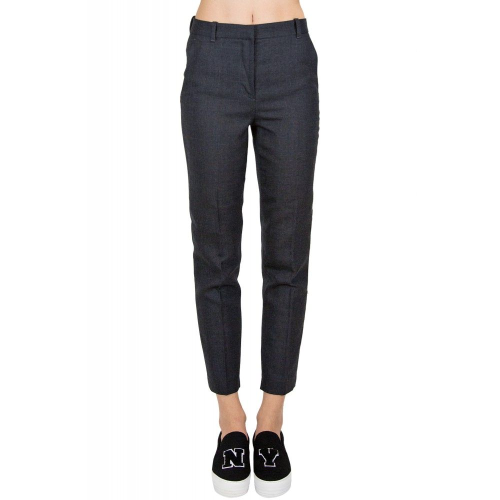 3.1 PHILLIP LIM Straight Grey Pants | Womens Pants