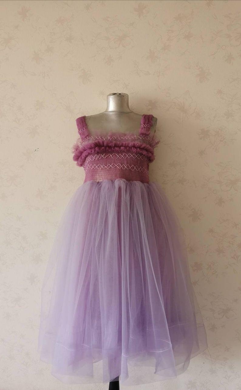 Tulle Dress Fashion Tulle Dress Purple Dress Party Dress Etsy Tulle Dress Flower Girl Dresses Couture Dresses [ 1285 x 794 Pixel ]