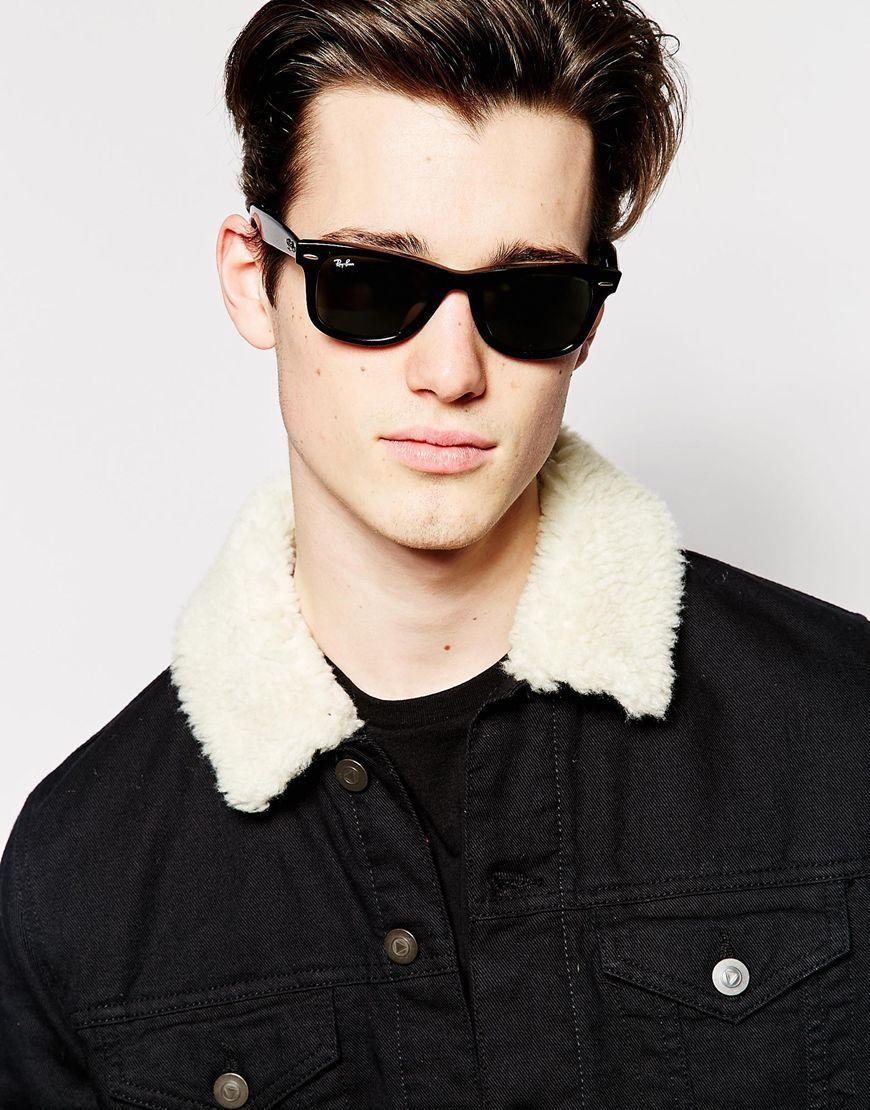 18778e075 Ray-Ban Wayfarer Sunglasses 0RB2140 901 47 #glasses #sunglasses #ray-ban
