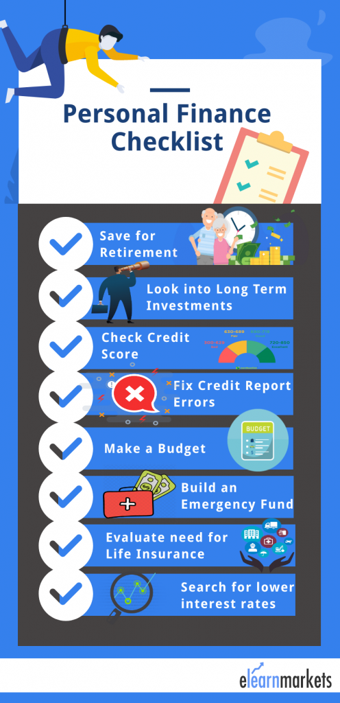 Personal Finance Checklist 8 Things To Do Now Personal Finance
