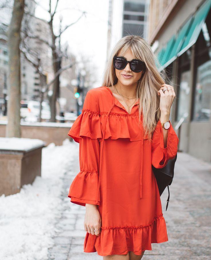 Cara Loren Shop Rosie Ruffled Dress