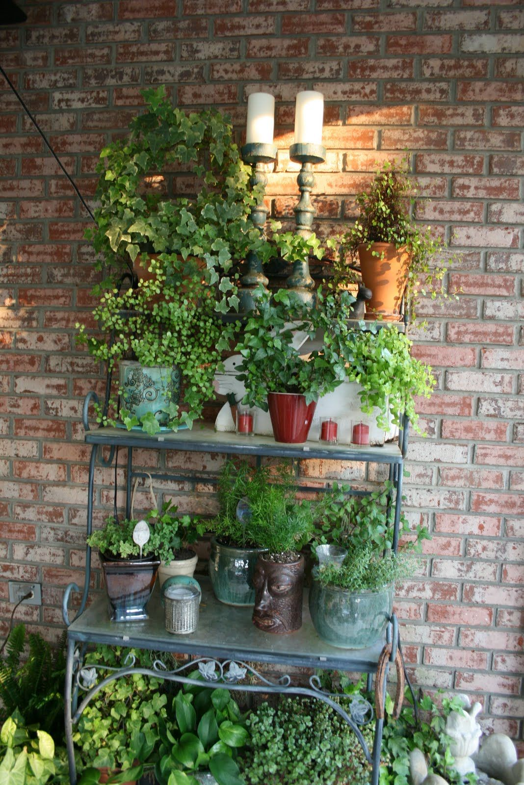 Marsha S Creekside Creations Spring Plants And Porch Patio