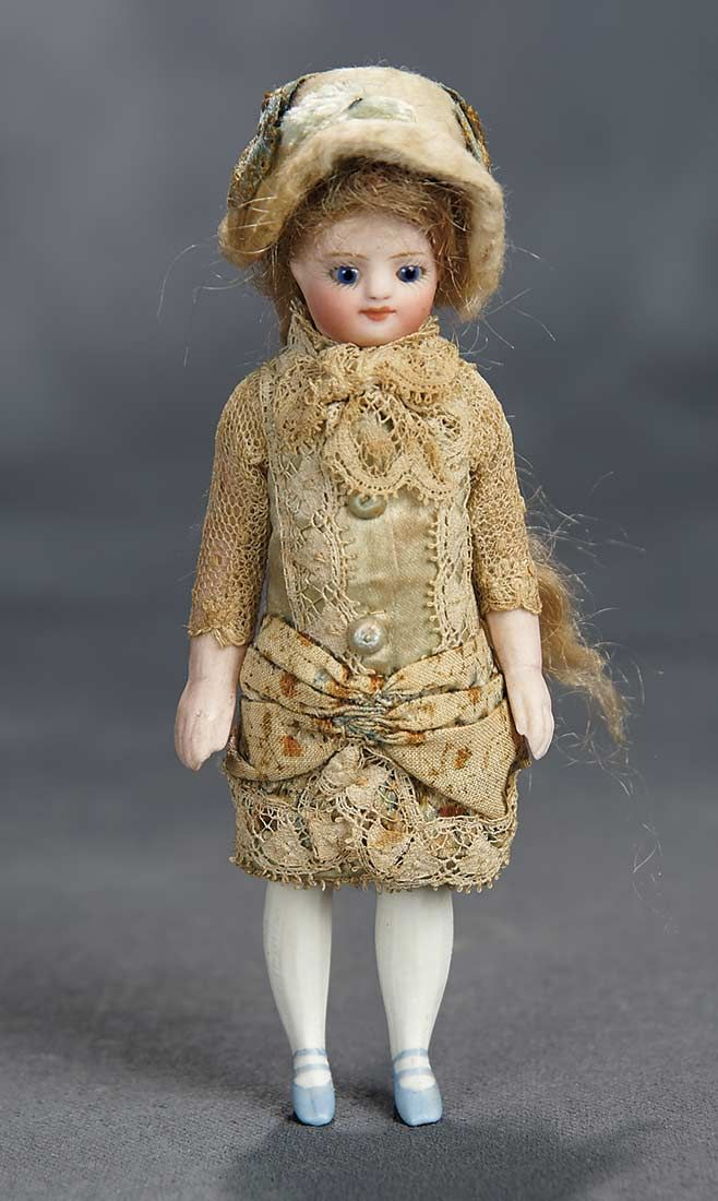 """""""The Voyage Continues"""" - Saturday, January 7, 2017: 127 French All-Bisque Mignonette with Original Costume"""