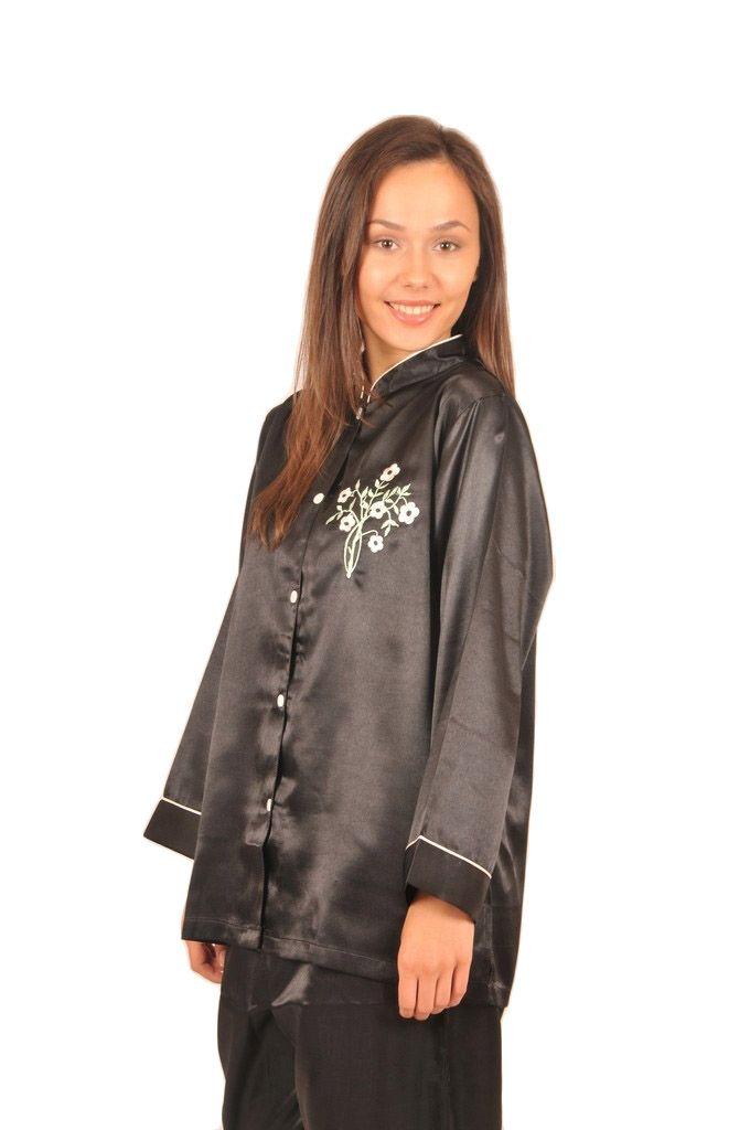 Mandarin Collar Pajamas  5610090df