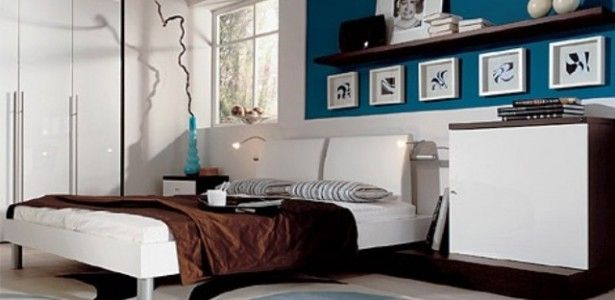 Cool-Blue-And-Turquoise-Accents-In-Bedroom-Designs-with ...