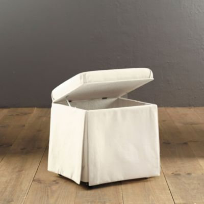 Bench Hamper Stool Bathroom Laundry White Love It In The Moroccan Stripe