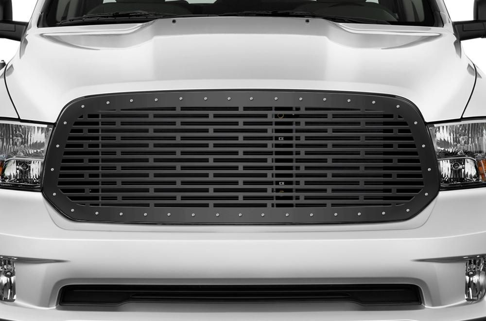 1 Piece Steel Grille for Dodge Ram 1500 20132018 BRICKS
