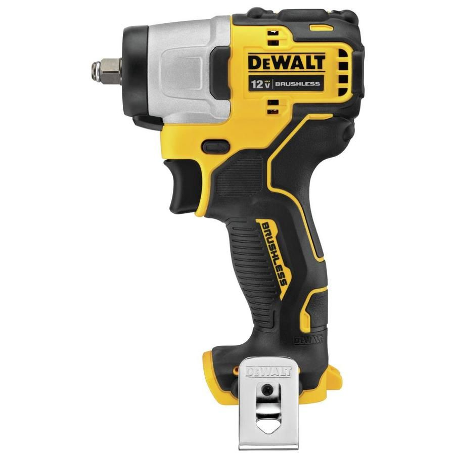 Dewalt Xtreme 12 Volt Max 3 8 In Square Drive Variable Speed Brushless Cordless Impact Wrench Dcf902b In 2020 Impact Driver Impact Wrench Driver Tool