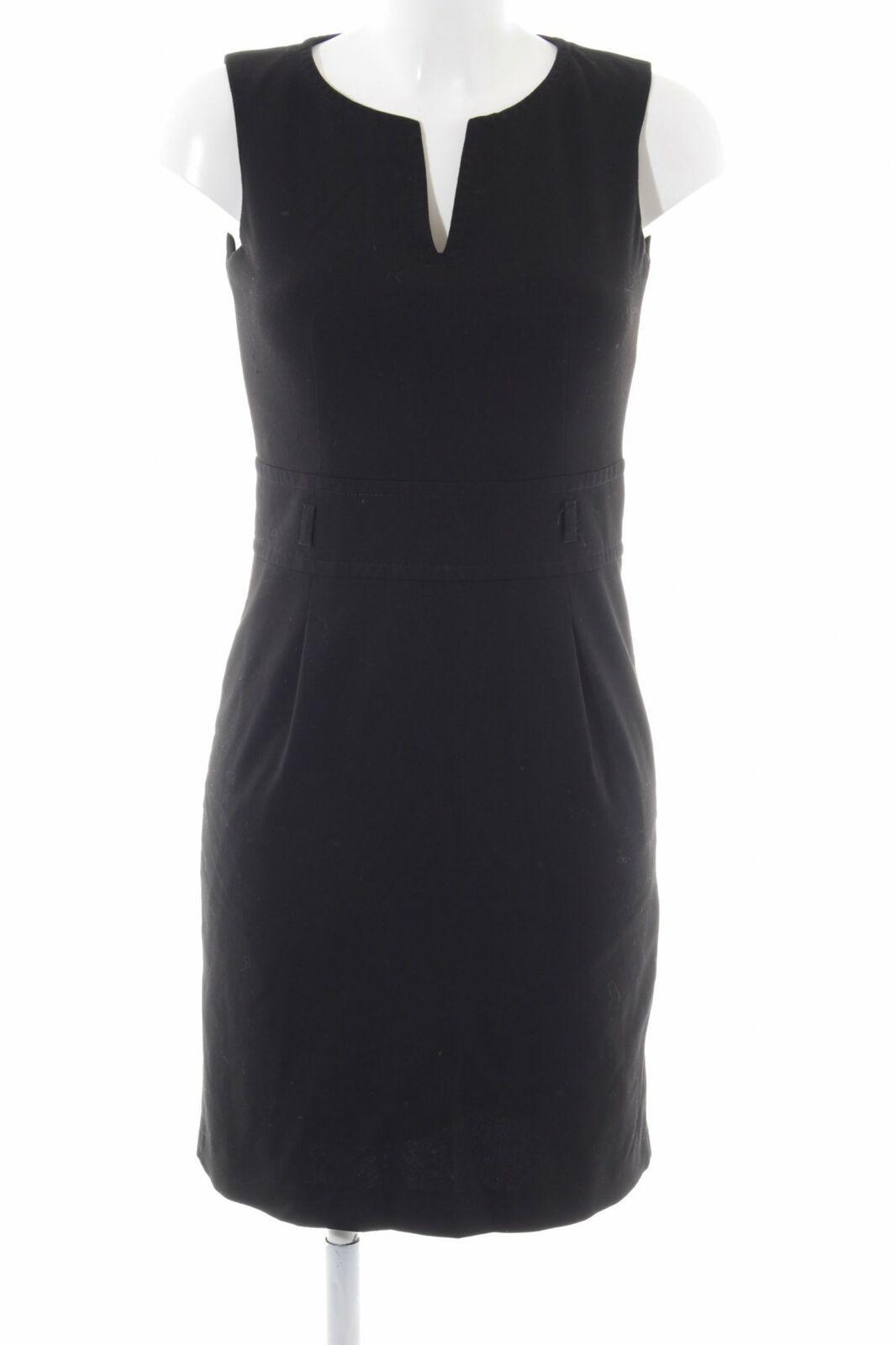 MEXX Etuikleid schwarz Business-Look Damen Gr. DE 20 Kleid Dress