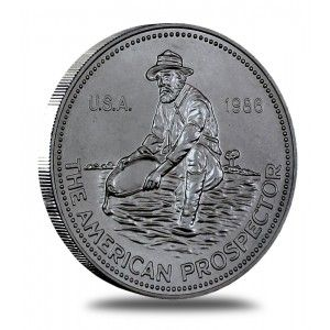 Buy Now For As Low As 2 49 Over Spot These Ever Popular Engelhard Prospector Rounds Are Made Of 99 9 Fine Silver And Silver Bullion Silver Rounds Silver