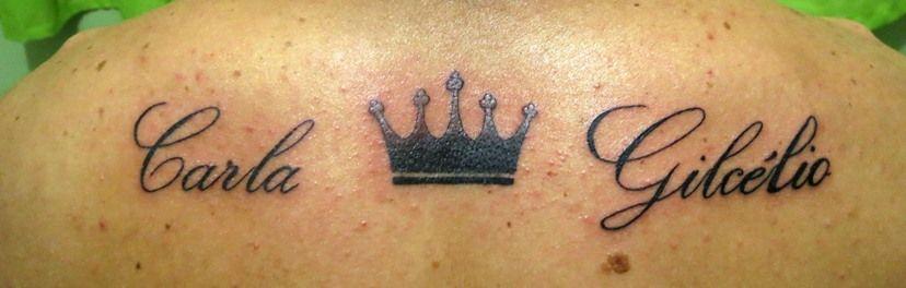 Nomes e coroa