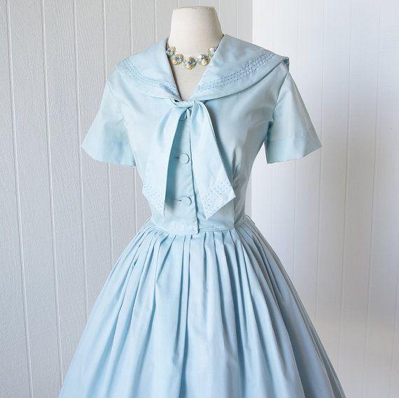 Vintage Wedding Dresses Dallas: Gorgeous Vintage Sailor Dress From Dallas Designs