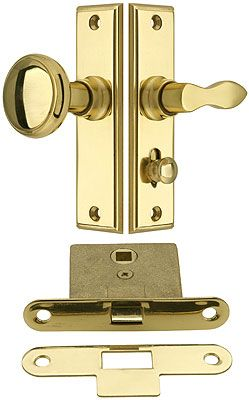 New York Screen Door Latch Set With 1 1 2 Backset Screen Door Latch Screen Door Hardware Patio Screen Door