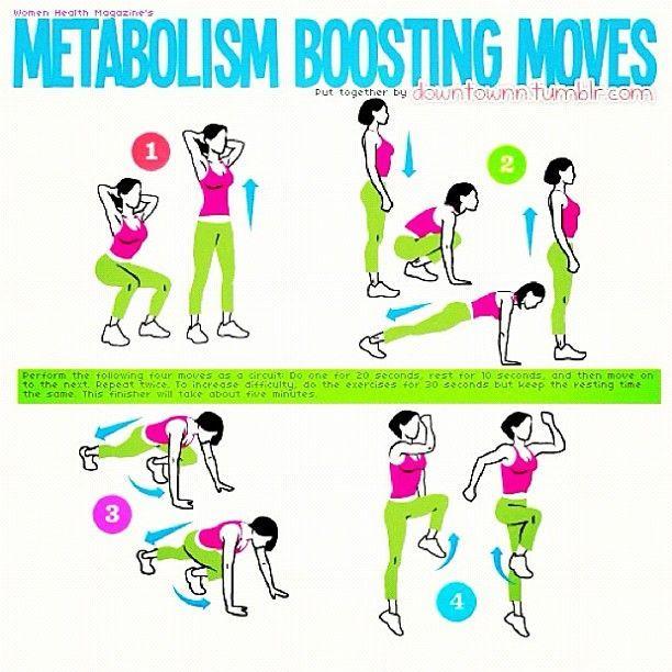 Metabolism Boosting Moves