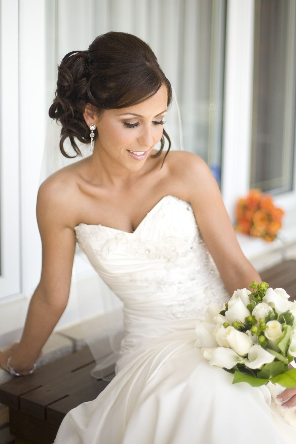 bridal hair and makeup in washington, dc | bridal hair and makeup in