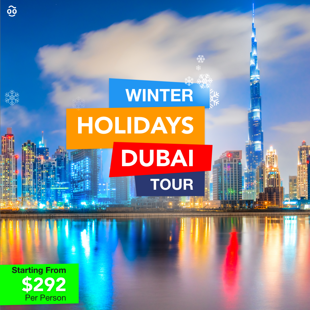 Spend a blissful holiday this winter in Dubai with