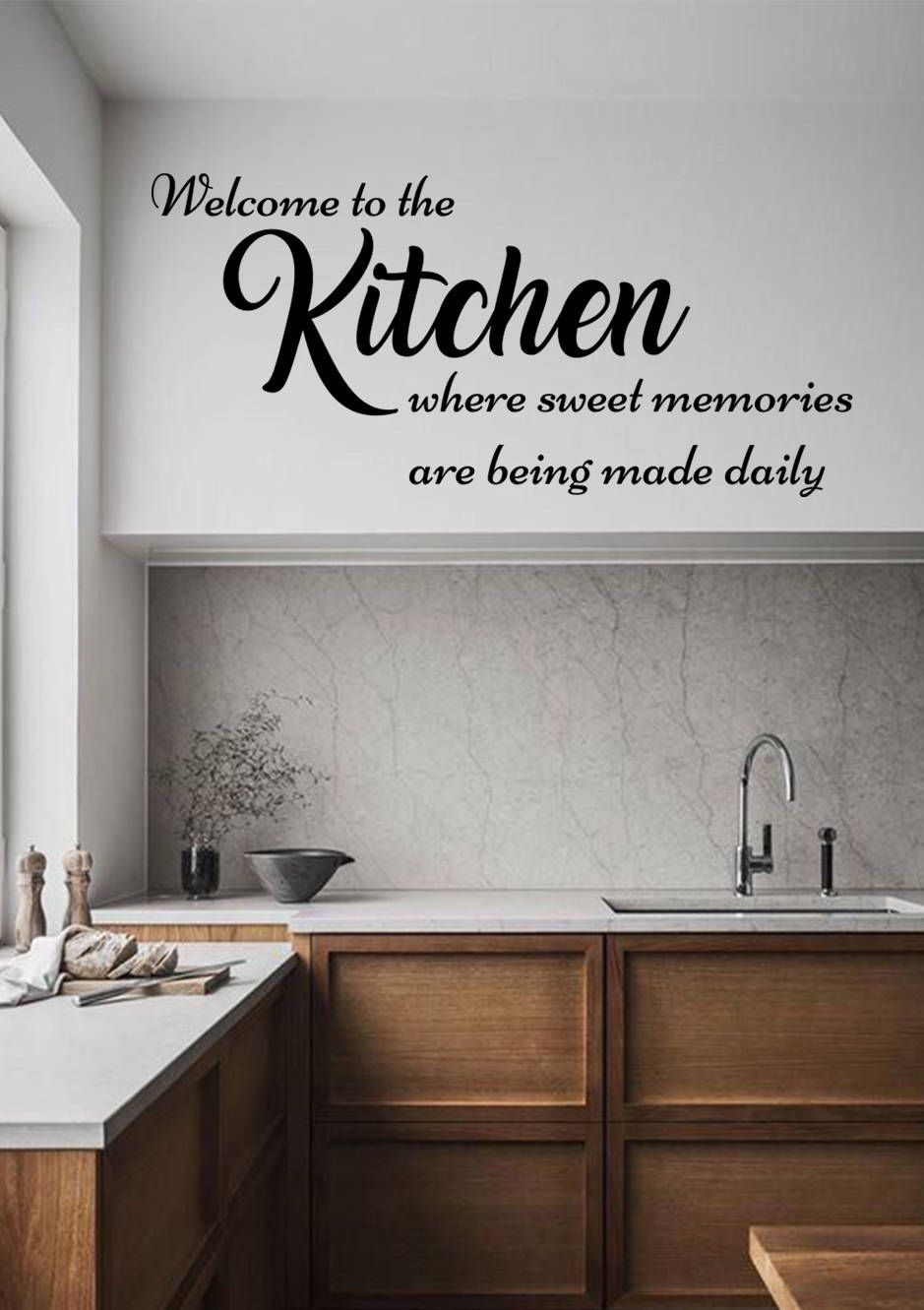 Family Wall Decals Kitchen Quote Vinyl Decals Family Stickers Kitchen Decor Quote Wall Decal Kitchen Quotes Decor Kitchen Wall Decals Vinyl Wall Decals Kitchen
