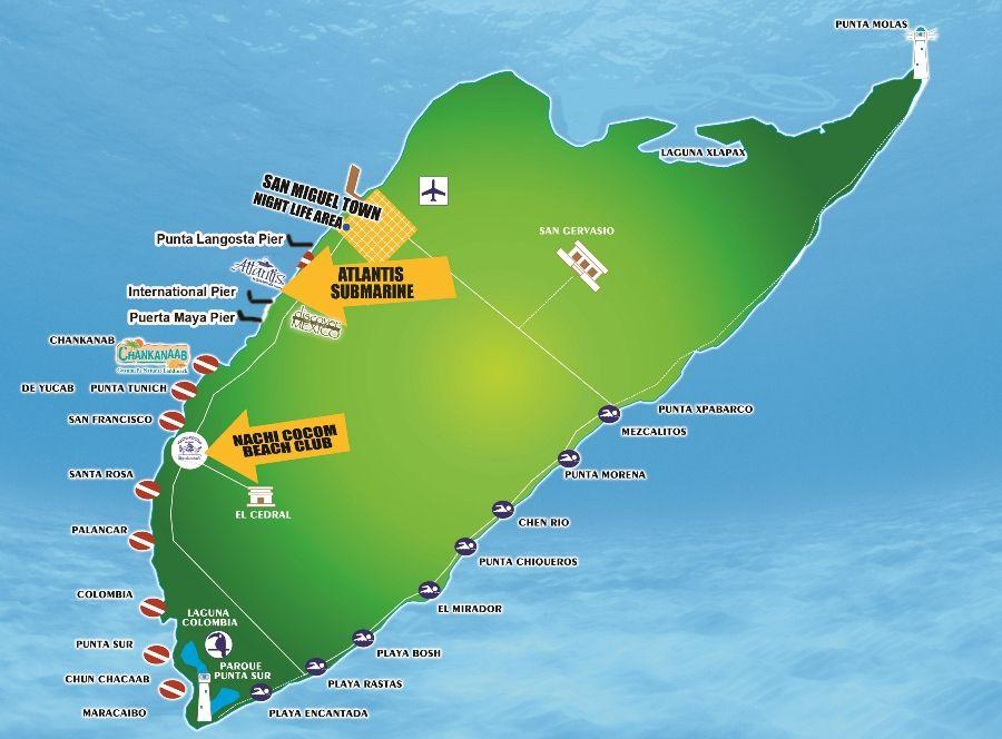 Cozumel Nachi Cocom Beach Club And Water Sports All Inclusive 55 P 17 Child Plus Taxi